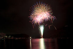 Kanzanji Firework 02 Royalty Free Stock Photo
