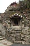 Kanzenon-Tempel in ginzan Silberbergwerk Iwami lizenzfreie stockfotos