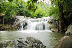Kao Chon waterfall, Ratchaburi, Thailand Royalty Free Stock Photo