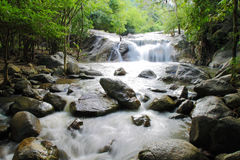 Kao Chon waterfall, Ratchaburi, Thailand Royalty Free Stock Photography