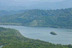 Kao Fa Chee view point, south of Thailand Royalty Free Stock Photography