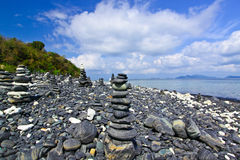 Kao Hin Ngam,the amazing stone for best wish Royalty Free Stock Photos