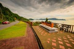 Kao Khad Viewpoint da cidade de Phuket, província de Phuket, Tailândia Imagem de Stock Royalty Free