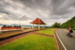 Kao Khad Viewpoint of Phuket city, Phuket province, Thailand Royalty Free Stock Photography