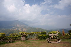 Kao-Kho, Thailand. A mountains view at Kao-Kho, Thailand Royalty Free Stock Photo