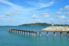 Kao Laem Ya. Laem Ya Pier at Kao Laem Ya-Moo Koh Samed National Park ,Thailand Royalty Free Stock Photography