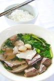 Kao Lhao mit Reis Stockfoto