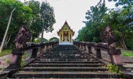 Kao Pha Tum Ma Kan tempel Arkivbilder
