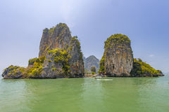 Kao Phing Kan island. In Krabi is famous for a scene from James Bond movie Stock Image