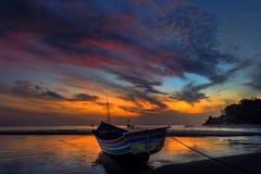 Kao Seng boats Beach Royalty Free Stock Photo