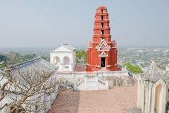 Kao Wang, Pagoda ,Thailand. Kao Wang, Pagoda in Petchaburi,Thailand Royalty Free Stock Photos