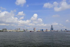 Kaohsiung bay Royalty Free Stock Images