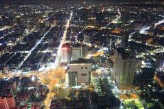 Kaohsiung city night Royalty Free Stock Photos