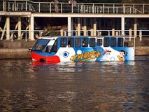Kaohsiung City's new swimming bus  Stock Image