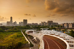 Kaohsiung cityscape Royalty Free Stock Image