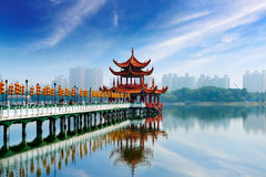 Kaohsiung famous tourist Royalty Free Stock Photography