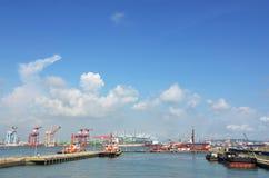 Kaohsiung hamn Royaltyfria Foton