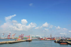Kaohsiung Harbor Royalty Free Stock Photos