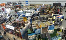The Kaohsiung Industrial Automation Exhibition Royalty Free Stock Photo