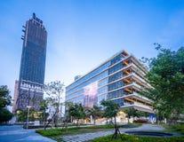 Kaohsiung Jawna Główna biblioteka lokalizuje wśród Azja Nowego Podpalanego terenu, otwierającego dla wszystkie o obraz royalty free
