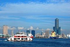Kaohsiung-Kanal stockbilder