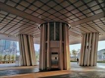Kaohsiung miasto Kaohsiung Jawna Główna biblioteka lokalizuje wśród Azja Nowego Podpalanego terenu, otwierającego dla wszystko sw Zdjęcie Stock