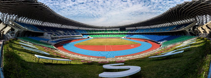 Kaohsiung  National Stadium. Kaohsiung, Taiwan - December 30, 2015: National Stadium, a multi-purpose stadium in Zuoying District, Kaohsiung, Taiwan. It is Stock Images