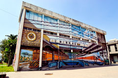 Kaohsiung Pier-2 Art Center Royaltyfria Bilder