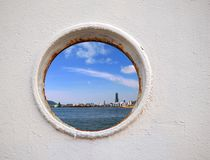 Kaohsiung Port Seen Through Stock Images