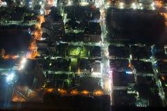 Kaohsiung stad på natten Royaltyfria Bilder
