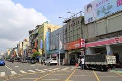 Kaohsiung streetscape Fotografering för Bildbyråer