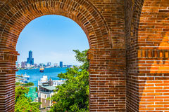 Kaohsiung - Taiwan. The British came here in 1879 on the construction of consulates, mainly for entertaining guests at the time, has now become a major tourist Royalty Free Stock Photography