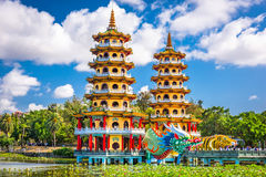 Kaohsiung, Taiwan Lotus Pond Stock Photos