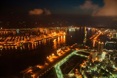 Kaohsiung, Taiwan Nights Stock Image