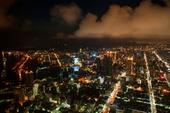 Kaohsiung, Taiwan Nights Stock Photo