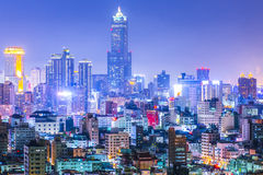 KAOHSIUNG, TAIWAN. Taiwan's second largest city - Kaohsiung Stock Photo
