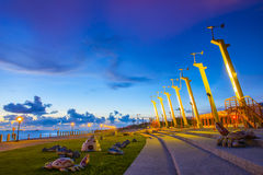 Kaohsiung - Taiwan. Taiwan's second largest city - Kaohsiung Stock Photography