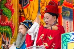 KAOHSIUNG TAJWAN, APR, - 21: Zwyczaj akrobacje w t Fotografia Stock