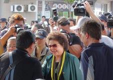 Kaohsiungs-Bürgermeister Chen Chu lizenzfreies stockbild