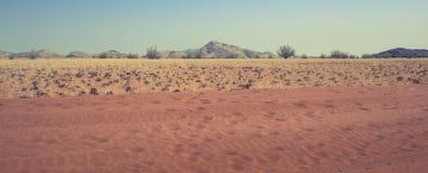 Kaokoland. Sand road in Kaokoland, Namibia Stock Photo