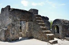 Kaole Ruins, Bagamoyo Stock Photo