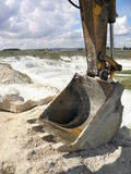 Kaolin mine Royalty Free Stock Photo
