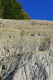 Kaolin mine detail Stock Images