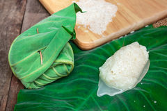 Kaomark, sweetmeat consisting of fermented glutinous rice. Royalty Free Stock Photos