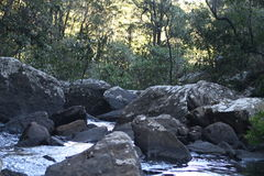 Kaombe-Fluss Sambia Lizenzfreie Stockfotografie