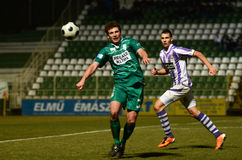 Kaosvar - Ujpest soccer game Royalty Free Stock Photography