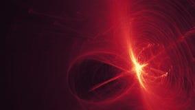 Kaotisk röd abstrakt bakgrund Royaltyfri Bild