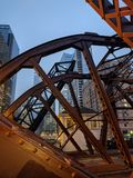 KAOTISKA Chicago arkivbild