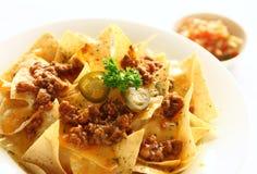 τρόφιμα μεξικανός ορεκτι&kap Στοκ Εικόνες