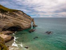 Kap-Abschied, der meiste westliche Punkt von Südinsel, Neuseeland Lizenzfreie Stockbilder